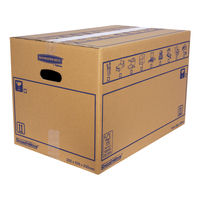 Bankers Box SmoothMove 350 x 350 x 550mm Moving Box, Pack of 10 - 6207301