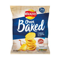 View more details about Walkers Cheese and Onion Oven Baked Crisps, Pack of 32 - 101011