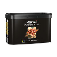 Nescafe Partners Blend Fairtrade Instant Coffee 500g Tin