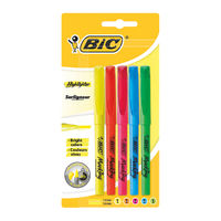 Bic Brite Liner Assorted Highlighters (Pack of 5) - 893133