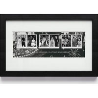 The Royal Wedding Platinum Anniversary Framed Miniature Sheet - N3113