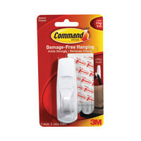 3M Command White Large Adhesive Hook - 17003