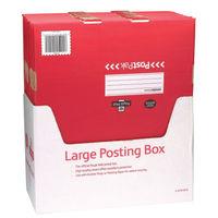 PostPak Large Parcel Mailing Box,, 190 x 470 x 360mm, Pack of 15 - 21204