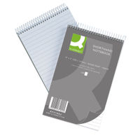 Q-Connect 203 x 127mm Feint Ruled Shorthand Notebook, Pack of 10 - 31002