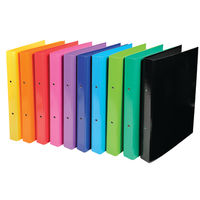 View more details about Iderama Assorted A4 2 O-Ring Binder 30mm, Pack of 10 - 54929E