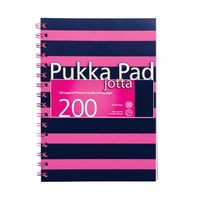 Pukka Pad Pink/Navy A5 Jotta Notepad<TAG>TOPSELLER</TAG>