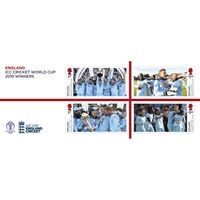 The England ICC Cricket World Cup 2019 Winners Miniature Sheet