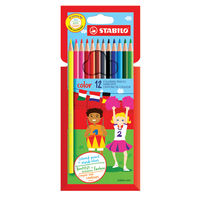 Stabilo Color 12 Premium Colouring Pencils, Pack of 72 - 1912/77-01