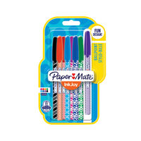 Paper Mate Inkjoy Wrap Ballpoint Pens, Pack of 96 - 1987871
