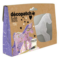 View more details about Decopatch Horse Mini Kits, Pack of 5 - KIT010O
