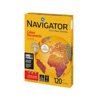 Navigator White A4 Colour Documents Paper 120gsm, Pack of 250 - NAVA4120