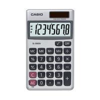 View more details about Casio SL-300V Pocket Calculator, 8 Digit Display - SL-300V-S-GH