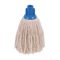 2Work 12oz Twine Rough Socket Mop, Blue (Pack of 10) – PJTB1210I