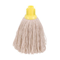 2Work 12oz Twine Rough Socket Mop, Yellow (Pack of 10) – PJTY1210I
