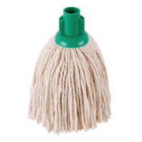 2Work 12oz PY Smooth Socket Mop, Green (Pack of 10) – PJYG1210I