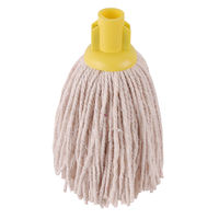 2Work 12oz PY Smooth Socket Mop, Yellow (Pack of 10) – PJYY2320I
