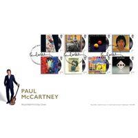 Paul McCartny Souvenir Stamp Cover