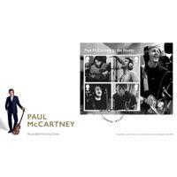 View more details about Paul McCartney Souvenir Miniature Sheet Cover