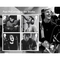 View more details about Paul McCartney in the studio Miniature Sheet