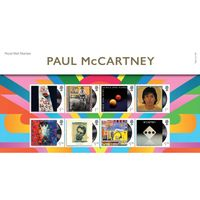 View more details about Paul McCartney Presentation Pack and Miniature Sheet