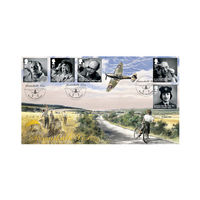The Remarkable Lives War Stamps First Day Cover - BC505A