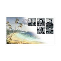 The Remarkable Lives Island Stamps First Day Cover - BC505