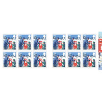 2nd Class Stamps x 12 Pack (Postage Stamp Book) Christmas 2018 - UB420