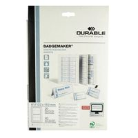 Durable Badgemaker Inserts, Pack of 40 - 1459/02