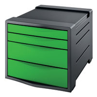 Rexel Choices Green Drawer Cabinet - 2115612