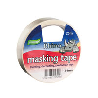 Ultratape 24mm x 25m Rhino Masking Tapes, Pack of 9 - RT03512425RH1
