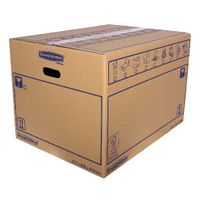 Bankers Box SmoothMove 460 x 410 x 610mm Moving Box, Pack of 10 - 6207501