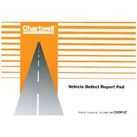 Chartwell Vehicle Defect Report Pad CVDR1