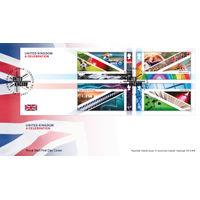 View more details about United Kingdom Celebration Souvenir Stamp Cover