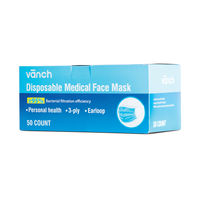 View more details about Whitebox Medical Face Mask 3 Layer BFE95 Pack of 50
