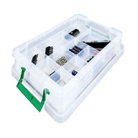 StoreStack Large Clear Insert Tray, 16 Compartments - RB77236