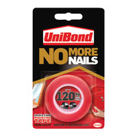 UniBond No More Nails On A Roll, 19mm x 1.5m - HK05128