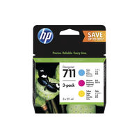 View more details about HP 711 Ink Cartridge Multipack - P2V32A