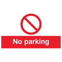 View more details about No Parking 300 x 500mm PVC Safety Sign - ML01928R