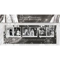 The Royal Wedding Platinum Anniversary Presentation Pack - AQ263