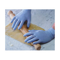 View more details about Shield Powder-Free Blue Small Latex Gloves (Pack of 100) GD40