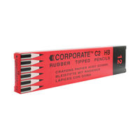 View more details about Economical Pencils with Eraser Tip, Pack of 12 - WX25011