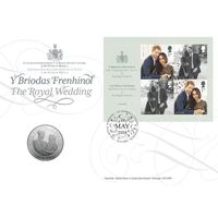 The Royal Wedding Coin Cover - AN155
