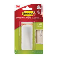 View more details about Command White Large Canvas Hanger - 17044