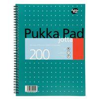 Pukka Pad A4 Wirebound Metallic Jotta Pads - Pack of 3 - JM018