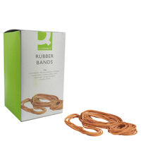 Q-Connect Size 89 Rubber Bands, 500g Box - KF10573