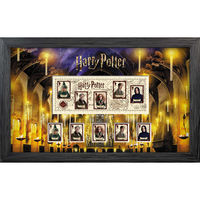The Harry Potter Framed Miniature Sheet - N3155