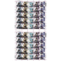 1st Class Stamps x50 (Self Adhesive Stamp Sheet) - Harry Potter Stamp Sheet B