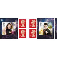 1st Class Stamps x 6 Pack - (Postage Stamp Book) - Harry Potter - UB418