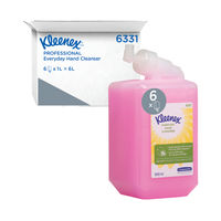 View more details about Kleenex 1 Litre Everyday Use Perfumed Hand Cleanser, Pack of 6 - 6331