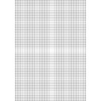 A4 Education 10mm Squares Exercise Paper, Pack of 2500 - EN09807